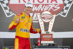 NASCAR: April 30 Toyota Owners 400 Stock Photos