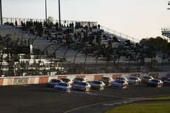 NASCAR: April 20 ToyotaCare 250 royaltyfri fotografi