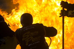 NASCAR: April 24 ToyotaCare 250 Royaltyfria Bilder