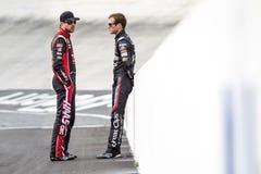 NASCAR: 17 april Voedselstad 500 Stock Foto's