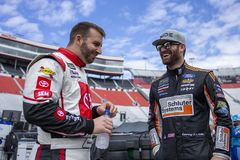 NASCAR: 06 april Voedselstad 500 royalty-vrije stock foto