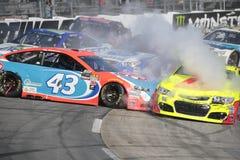 NASCAR: 2 aprile STP 500 Fotografia Stock