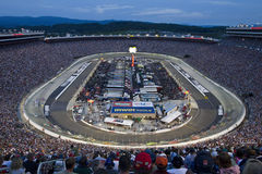 NASCAR:  Aug 21 Irwin Tools Night Race Royalty Free Stock Photography
