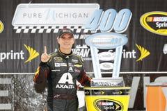 NASCAR: Aug 17 Czysty Michigan 400 Zdjęcie Royalty Free