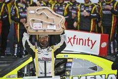 NASCAR: Aug 29 droga Ameryka 180 Podpalający up Johnsonville Obraz Royalty Free