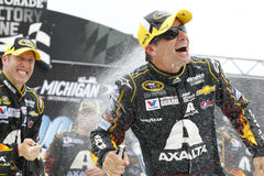 NASCAR:  Aug 17 Pure Michigan 400 Royalty Free Stock Photography