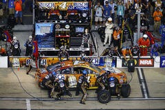 NASCAR: August 19 Bass Pro Shops NRA Night Race Stock Image