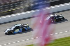 NASCAR: August 12 Consumers Energy 400. August 12, 2018 - Brooklyn, Michigan, USA: Jamie McMurray 1 brings his race car down the front stretch during the stock images