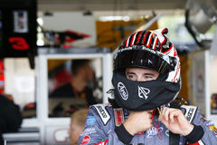 NASCAR: August 05 I LOVE NY 355. August 05, 2017 - Watkins Glen, New York, USA: Austin Dillon 3 hangs out in the garage during practice for the I LOVE NY 355 at royalty free stock images