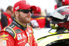 NASCAR: August 06 I LOVE NY 355. August 06, 2017 - Watkins Glen, New York, USA: Dale Earnhardt Jr. 88 hangs out on pit road prior to qualifying for the I LOVE NY stock photography