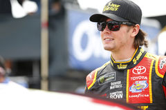 NASCAR: August 06 I LOVE NY 355. August 06, 2017 - Watkins Glen, New York, USA: Erik Jones 77 hangs out on pit road prior to qualifying for the I LOVE NY 355 at royalty free stock images