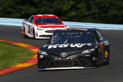 NASCAR: August 06 I LOVE NY 355. August 06, 2017 - Watkins Glen, New York, USA: Martin Truex Jr. 78 brings his car through the turn during the I LOVE NY 355 at stock photos