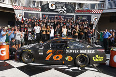 NASCAR: August 06 I LOVE NY 355. August 06, 2017 - Watkins Glen, New York, USA: Martin Truex Jr. 78 wins the I LOVE NY 355 at Watkins Glen International in stock photo
