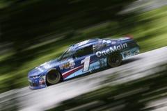 NASCAR: Am 27. August Johnsonville 180 Lizenzfreie Stockfotos