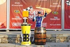 NASCAR: Augusti 10 Cheez-honom 355 på dalgången Royaltyfri Fotografi