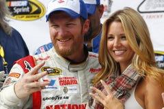 NASCAR: Augusti 03 GoBowling com 400 Arkivbilder
