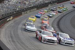 NASCAR: Augusti 17 hangås utomhus 400 arkivbild