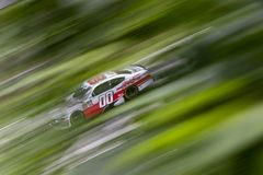 NASCAR: Augusti 24 Johnsonville 180 arkivbilder