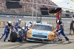 NASCAR: Augusti 13 rena Michigan 400 Fotografering för Bildbyråer