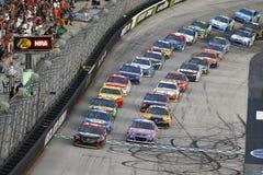 NASCAR: 19 augustus Bass Pro Shops-de Nachtras van NRI Stock Afbeeldingen