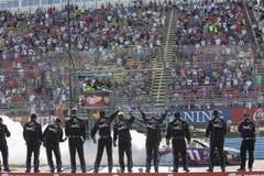 NASCAR: 07 augustus cheez-het 350 bij de Nauwe vallei Royalty-vrije Stock Foto's
