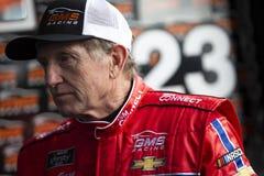 NASCAR: 24 augustus Johnsonville 180 royalty-vrije stock foto's