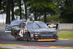 NASCAR: 27 augustus Johnsonville 180 Stock Foto's
