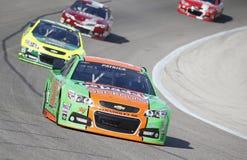 NASCAR :  4 avril Duck Commander 500 Photos libres de droits
