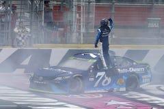 NASCAR: Banca di America 500 dell'8 ottobre Fotografia Stock Libera da Diritti