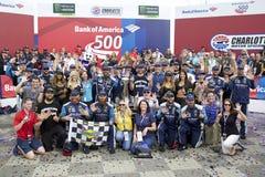 NASCAR: Banca di America 500 dell'8 ottobre Immagini Stock Libere da Diritti