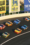 NASCAR - besetzte der Reihe nach 3 Lizenzfreie Stockbilder