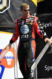 NASCAR Bestuurder Jeff Burton in N Royalty-vrije Stock Foto