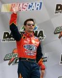 NASCAR bestuurder Jeff Gordon stock foto