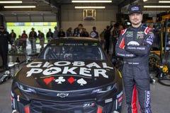 NASCAR: Biljettförmyndare 500 för mars 08 royaltyfri fotografi