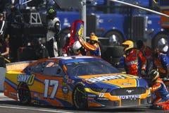 NASCAR: Biljettförmyndare 500 för mars 10 royaltyfri bild