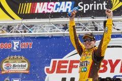 NASCAR: Breng 20 Jeff Byrd 500 in de war Stock Afbeeldingen