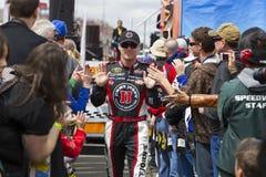 NASCAR: Breng 27 AutoClub 400 in de war Royalty-vrije Stock Foto