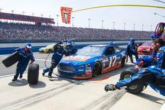 NASCAR: Breng 22 Autoclub 400 in de war Stock Afbeeldingen