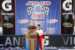 NASCAR: Breng 22 Autoclub 400 in de war Royalty-vrije Stock Fotografie