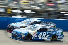 NASCAR: Breng 22 Autoclub 400 in de war Royalty-vrije Stock Foto's