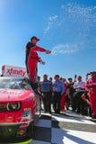 NASCAR: Breng 21 Drive4Clots in de war Com 300 Stock Afbeeldingen
