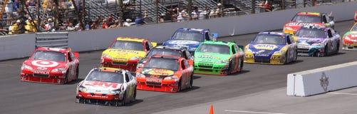 NASCAR Brickyard 400 2010 Re-Start IMS Indiana Royalty Free Stock Image