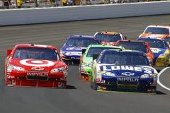 NASCAR: Brickyard 400 JULHO de 25 Imagens de Stock