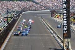 NASCAR : Briqueterie 400 du 31 juillet image stock