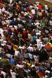 NASCAR - bunte Gebläse bei Lowes stockfotografie