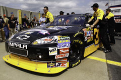 NASCAR - Burton's Hall of Fame Chevy Royalty Free Stock Photos