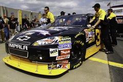 NASCAR - Burtons Hall av berömmelse Chevy Royaltyfria Foton