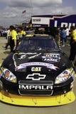 NASCAR - Burtons Hall av berömmelsebilen Royaltyfria Bilder