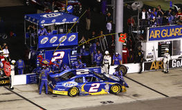 NASCAR - Busch on Pit Road in Richmond Stock Photo