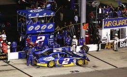 NASCAR - Busch sur la route de mine à Richmond Photo stock